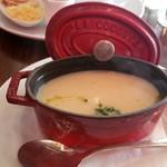ルバーブ - 新玉ねぎのスープ