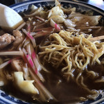 釜彦 - スープ入焼きそば