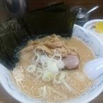 Hokkaidouramenrairaiken - 味噌+海苔トッピング