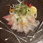 クラフトビール×個室 KIYAMA - 本日のカルパッチョ 真鯛