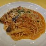 10762907 - 茄子とリコッタチーズ トマトのスパッゲティ