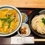 107621590 - カレー親子丼の無理矢理うどんセット