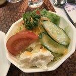 レストラン 西洋軒 - サラダ