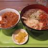 そば処 立ちあおい - 料理写真:ミニカレー丼セット(そば) 600円 (2019.4)