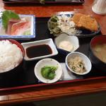お食事処 かいがん - アジ定食 756円