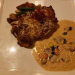 ブルーバイユー・レストラン - 銘柄鶏のグリエ、クリームソース バーボンの香り2019.5.5