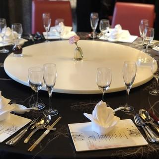 記念日や接待に最適な大人の空間で厳選中華料理を