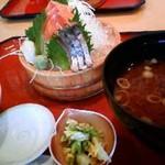 10763099 - 選べる刺身3種盛り定食