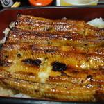 寿恵川 - うな重 竹 2620円