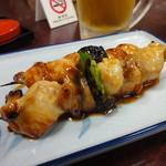 寿恵川 - 焼き鳥 たれ(2本) 420円