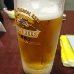 寿恵川 - 生ビール 570円