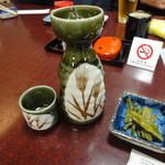 寿恵川 - 日本酒 450円