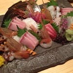 和食 お酒 彩は - 沼津港直送の新鮮な刺し盛り