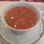桔梗が丘ヴェルージュ - パスタコース・スープ