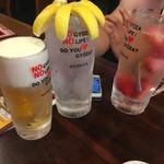 餃子バル 餃子家 龍 - 映える飲み物も有ります!