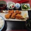 但馬山杉澤 - 料理写真:唐揚げ定食ご飯大盛り