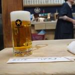 大衆割烹 三州屋 - 生ビール