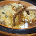 大衆割烹 三州屋 - 丸煮柳川(ドジョウ)