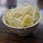 味噌麺処 花道 - 野菜、にんにく