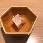 よし川 新別館 - マコガレイの肝