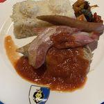 ナイト・テーブル・レストラン - 料理写真:香薫グリルプレートセット ドリンクバー付き ¥1750