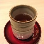茶房つるや - ほうじ茶