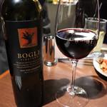 Yakiniku Barbies -  Bogle Vineyards Zinfandel カリフォルニア