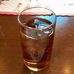 スカンディヤガーデン - ランチセットのアイス烏龍茶