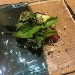 アコンプリ - 春野菜とさつま芋のタルト