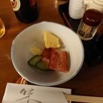 富乃寿 - 料理写真:お通し