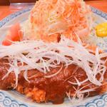 鶴亀 - 料理写真:みそかつ(ロース)
