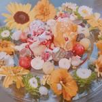 107653793 - お花のフレンチトースト