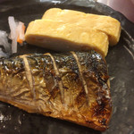 Umekisanchinodaidokoro - ランチメインのサバの塩焼き