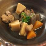 Umekisanchinodaidokoro - 筑前煮も大きめ野菜がゴロゴロ♪
