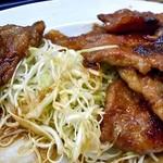 らーめん食堂 正味 - 「焼肉定食(倍盛)」のメイン