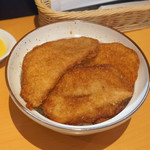 Tonkatsutarou - 料理写真:そーすかつ丼4枚