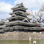 107665430 - 春を迎えた松本城