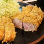 とんかつ 力亭 - 料理写真:大ロースかつ