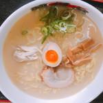 麺担品 - 鶏白湯麺 白 801円