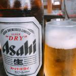 麺担品 - 瓶ビール アサヒビール