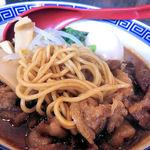 中華そば JAC - JACそばの麺