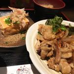 ダイニング膳 - ・本日のランチ[豚しょうが焼+絹厚揚]