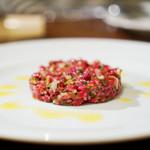 SAISIR - 料理写真:牛肉のタルタルステーキ
