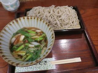 からくさ - つけ鴨 大盛り(¥1,250)
