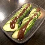 世界の山ちゃん - 山ちゃん味噌キューリ(350円)