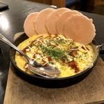 世界の山ちゃん - 鉄板玉せん(450円)