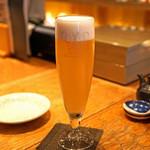 十番右京 - 生ビール