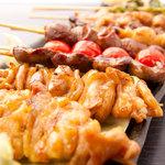きむら屋 - 焼鳥・串焼きも豊富な種類をご用意しています。