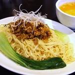 味の彩華 - 坦々つけ麺