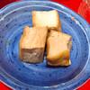 錦ちゃん餃子 - 料理写真:お通しの厚揚げ煮